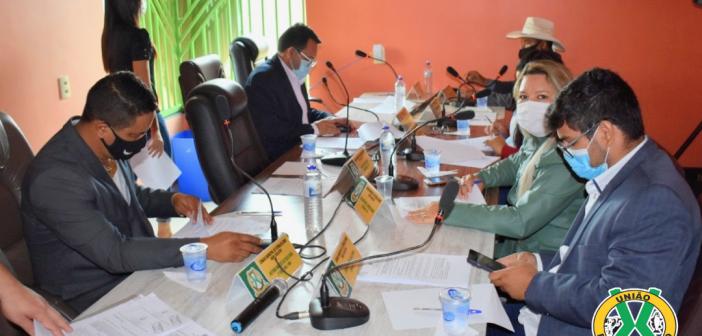 A Câmara Municipal de Vitória do Xingu-PA  promoveu nos dias 12 e 13 de Abril de 2021, a 05° e  06° sessão ordinária do 1 ° período legislativo do biênio 2021 a 2022